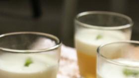Pudding xoài sữa chua mật ong